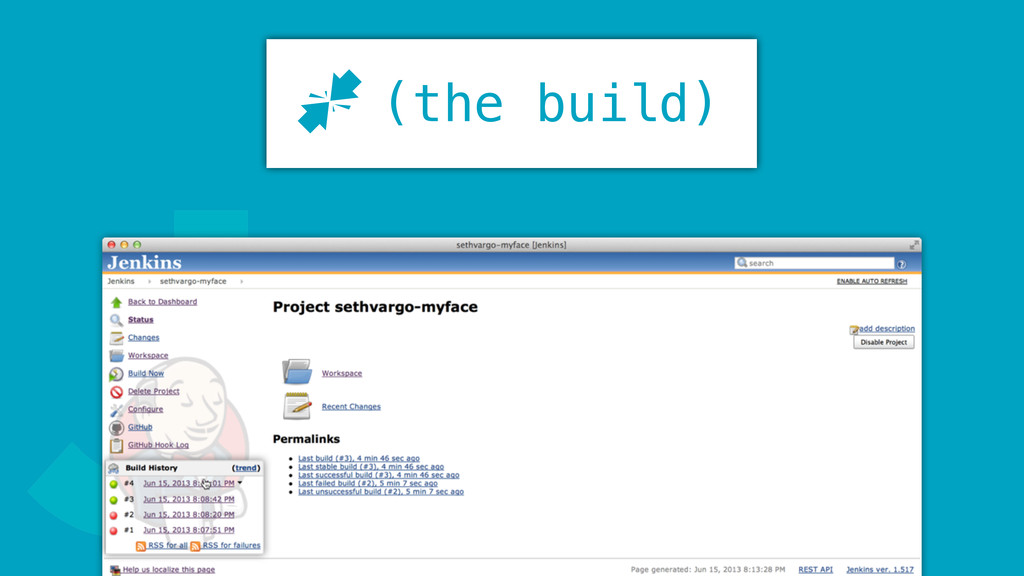 J (the build) J