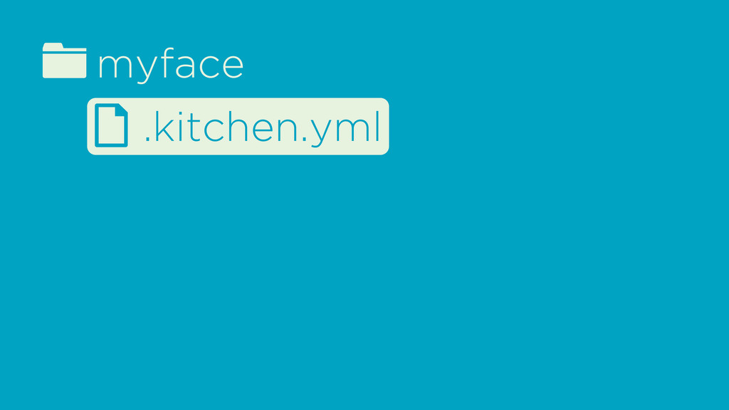 fmyface d .kitchen.yml