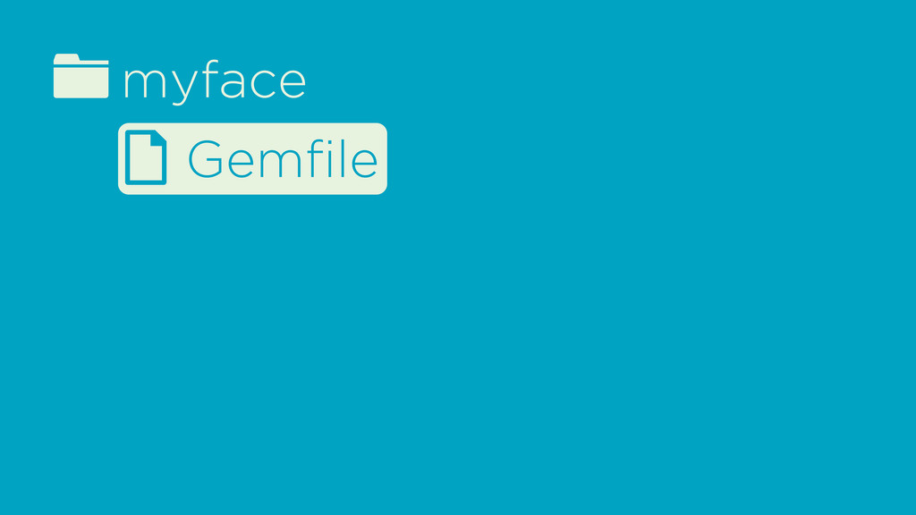 fmyface d Gemfile