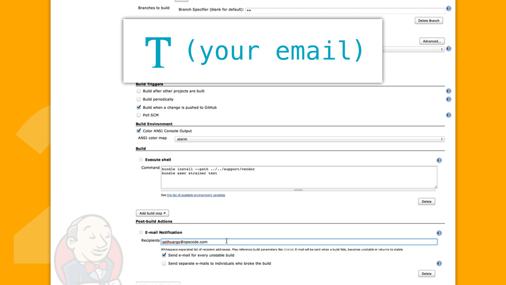 2(your email) T