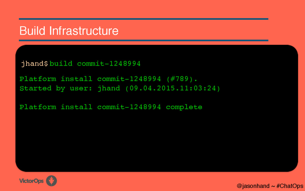 Build Infrastructure Platform install commit-12...