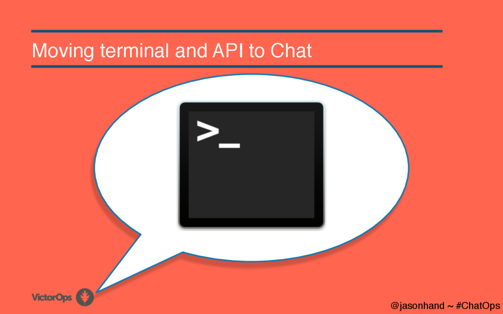 Moving terminal and API to Chat @jasonhand ~ #C...