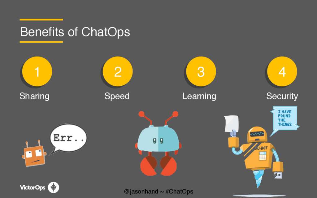 1 1 1 2 1 3 1 4 Benefits of ChatOps Sharing Spe...