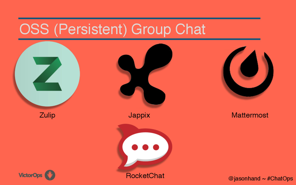 OSS (Persistent) Group Chat @jasonhand ~ #ChatO...