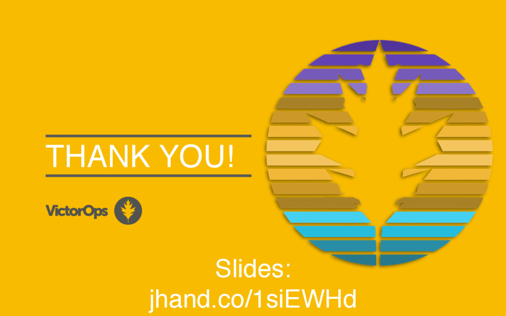 THANK YOU! Slides: jhand.co/1siEWHd