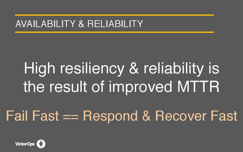 AVAILABILITY & RELIABILITY High resiliency & re...