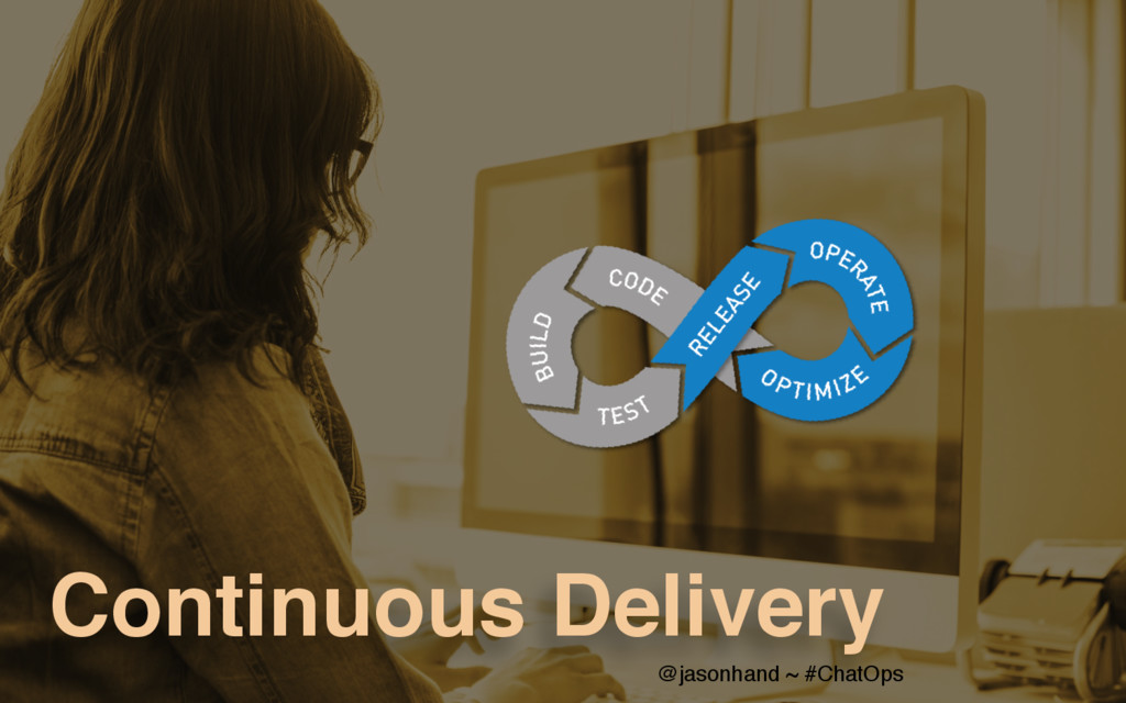 Continuous Delivery @jasonhand ~ #ChatOps