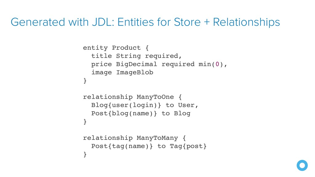 Generated with JDL: Entities for Store + Relati...