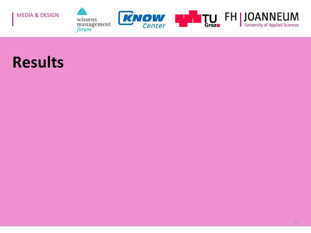 MEDIA & DESIGN Results 12