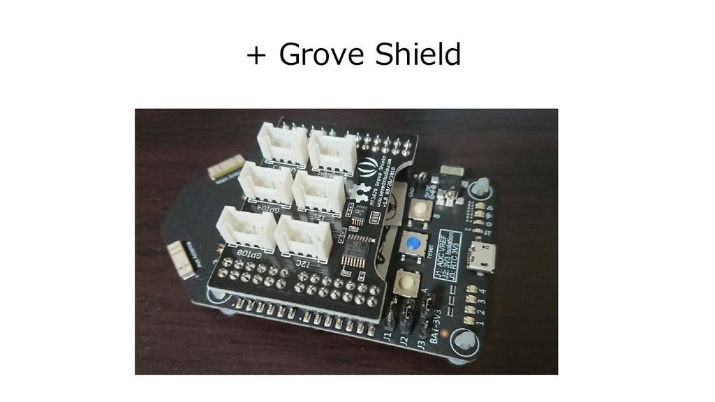 + Grove Shield