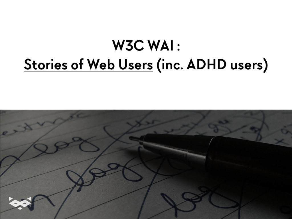 W3C WAI :