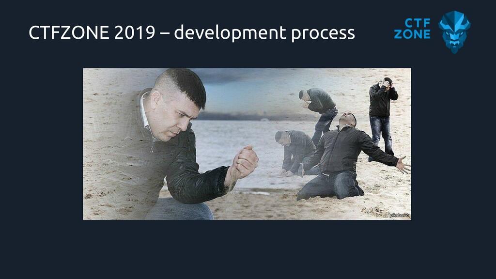 CTFZONE 2019 – development process