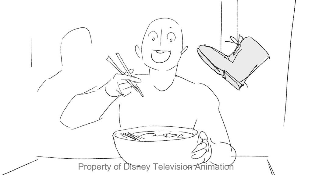 Property of Disney Television Animation