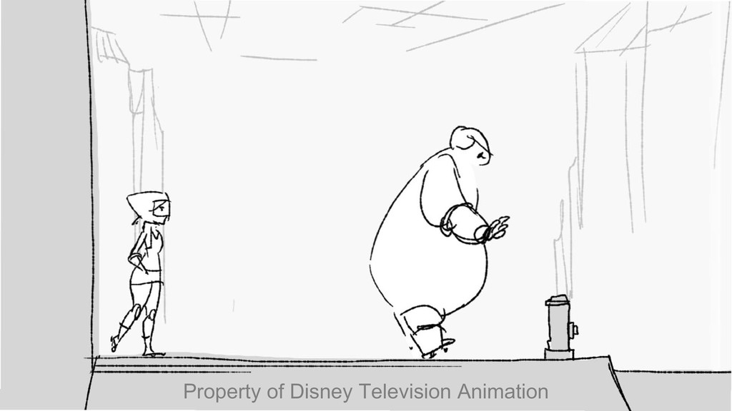 \ \ \ I Property of Disney Television Animation