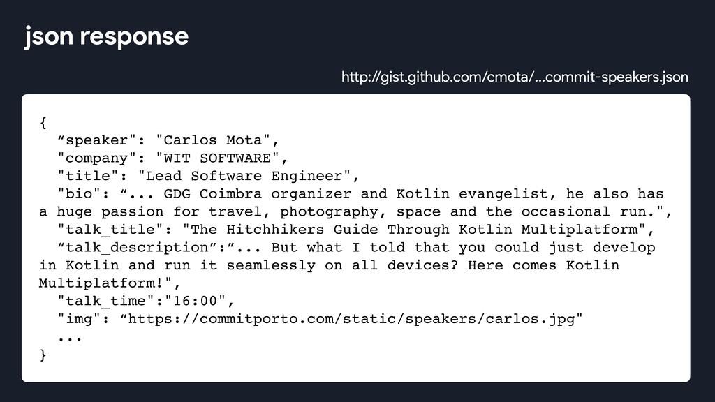 "{ ""speaker"": ""Carlos Mota"", ""company"": ""WIT SOF..."