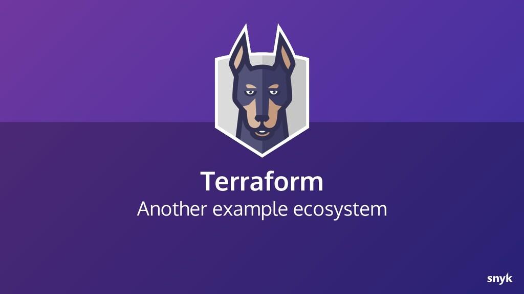 Terraform Another example ecosystem
