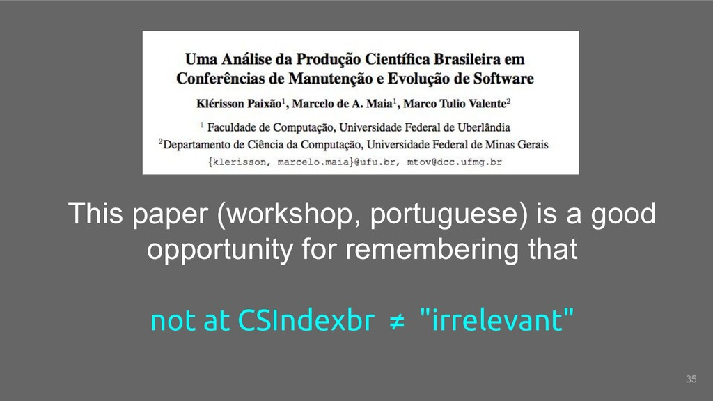 This paper (workshop, portuguese) is a good opp...