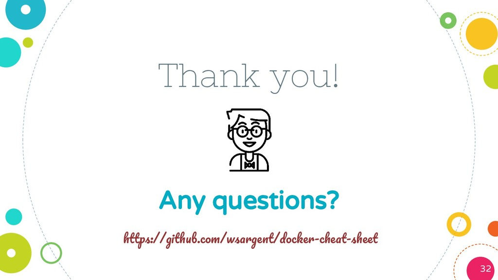 Thank you! Any questions? 32 :// . / / - -