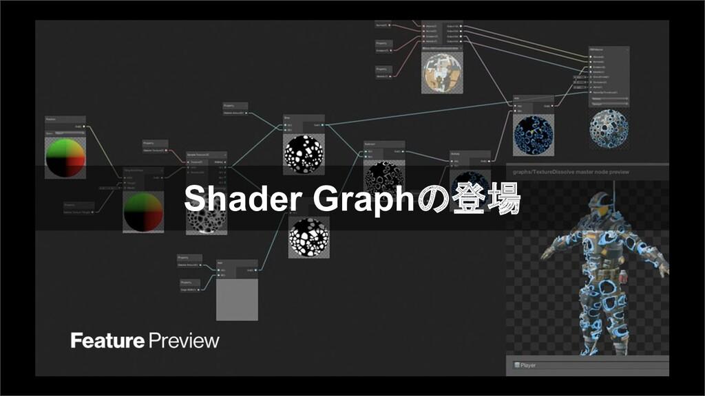 Shader Graphの登場