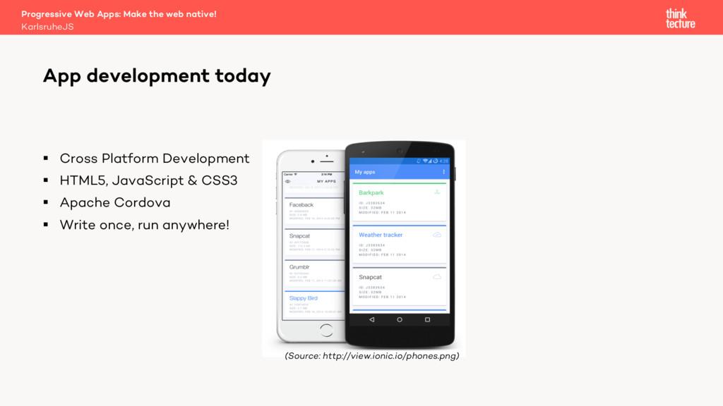 § Cross Platform Development § HTML5, JavaScrip...