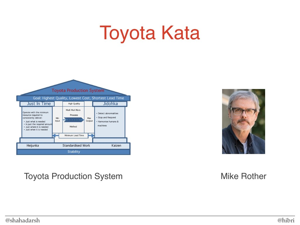 @shahadarsh @hibri Toyota Kata Mike Rother Toyo...