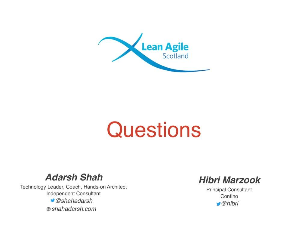 Questions Hibri Marzook Principal Consultant Co...