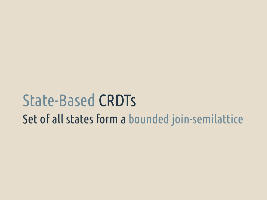 Set of all states form a bounded join-semilatti...