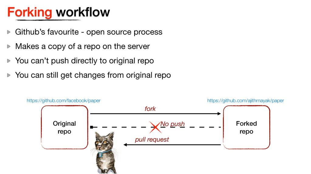 Forking workflow Github's favourite - open sourc...