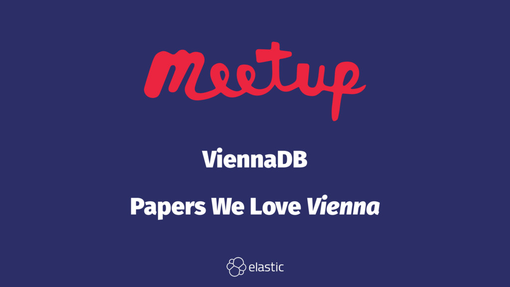 ViennaDB Papers We Love Vienna