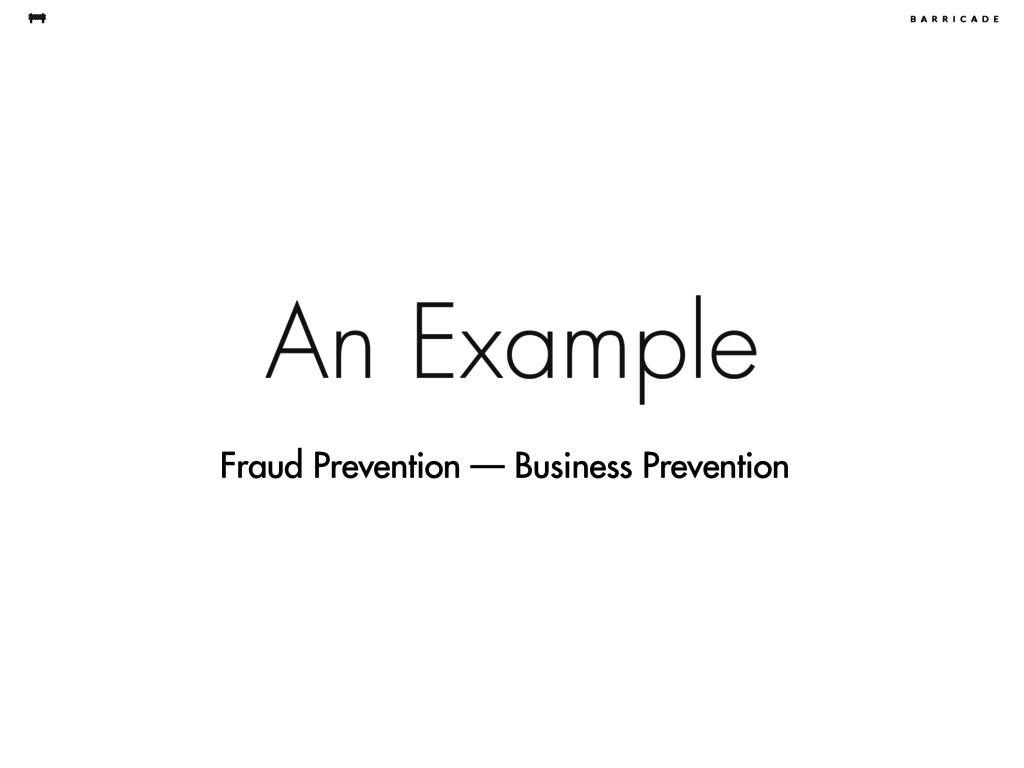 An Example Fraud Prevention — Business Preventi...