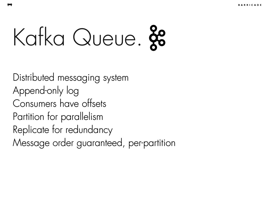Kafka Queue. Distributed messaging system Appen...
