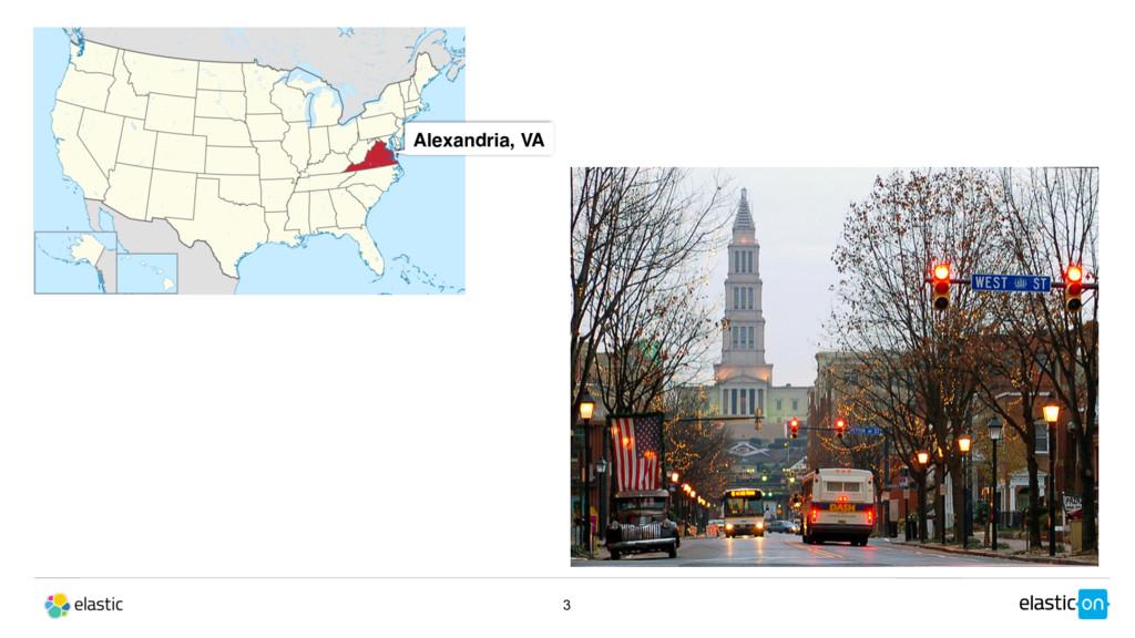 3 Alexandria, VA