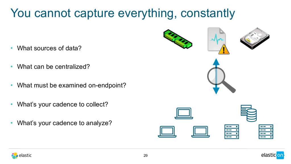 • What sources of data? • What can be centraliz...