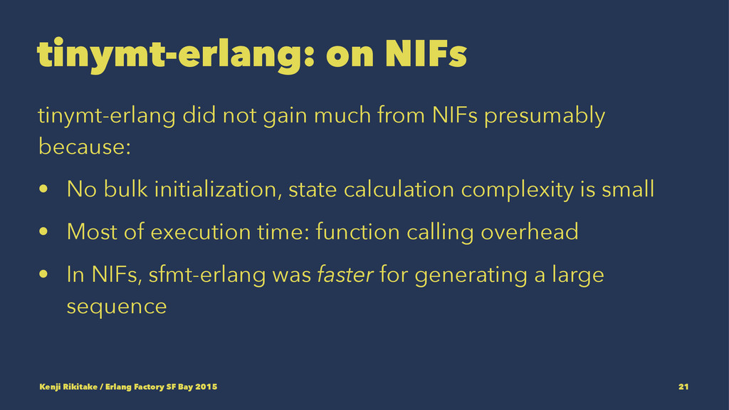 tinymt-erlang: on NIFs tinymt-erlang did not ga...