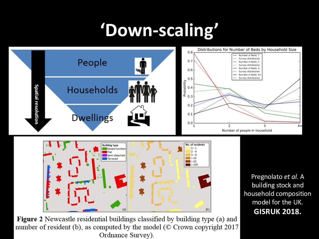 'Down-scaling' Pregnolato et al. A building sto...