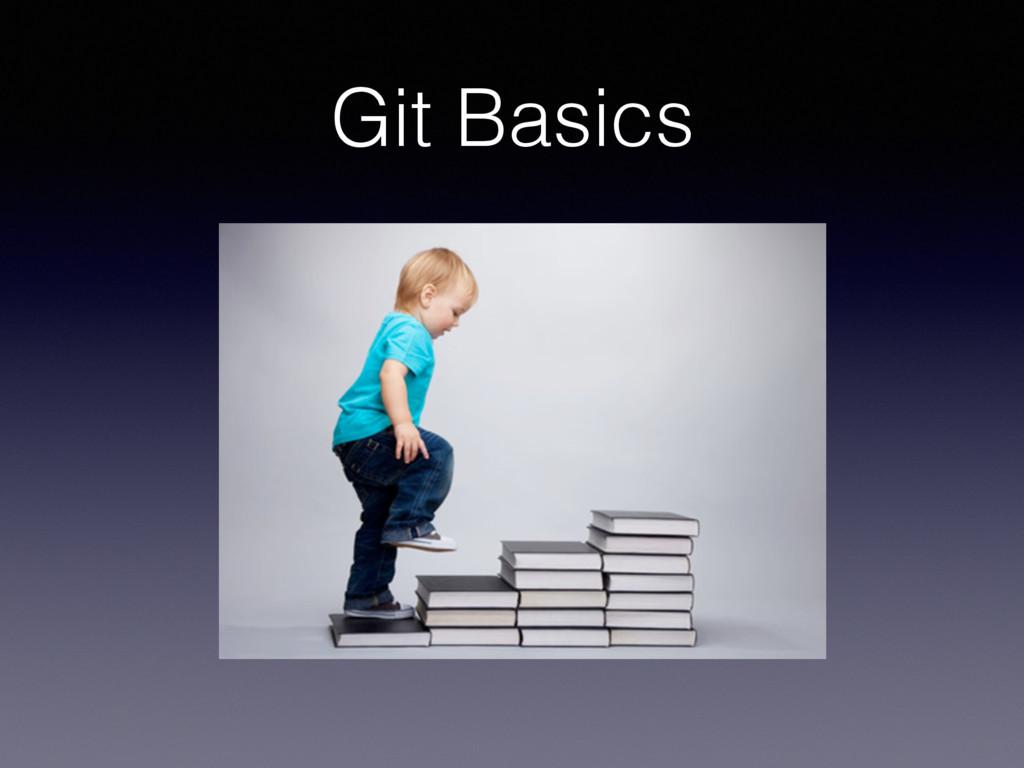 Git Basics