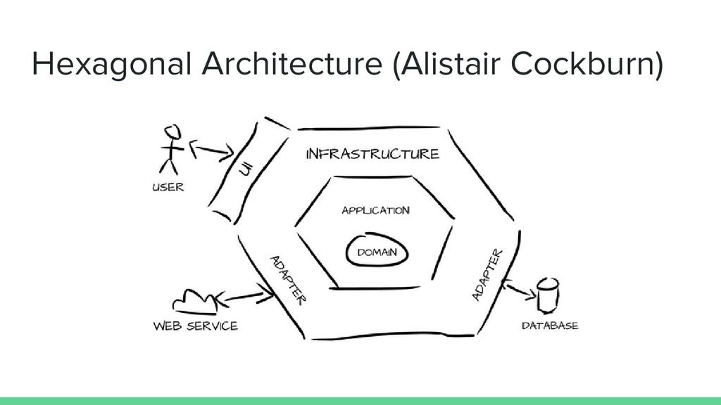 Hexagonal Architecture (Alistair Cockburn)