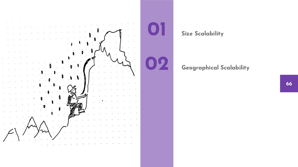 Size Scalability Geographical Scalability 01 02...