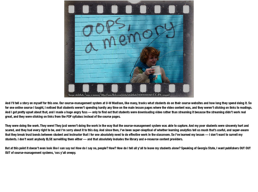 """Image: istolethetv, """"oops, a memory"""" https://ww..."""