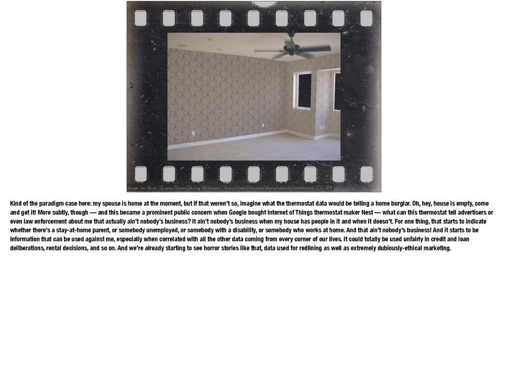"Image: Ian Burt, ""Empty Room—Shining Wallpaper,..."