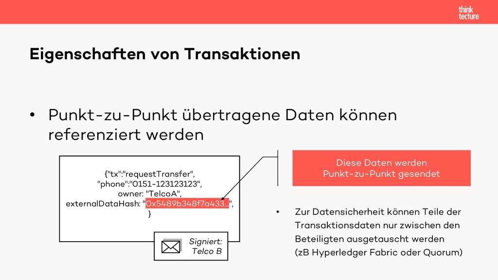 • Punkt-zu-Punkt übertragene Daten können refer...