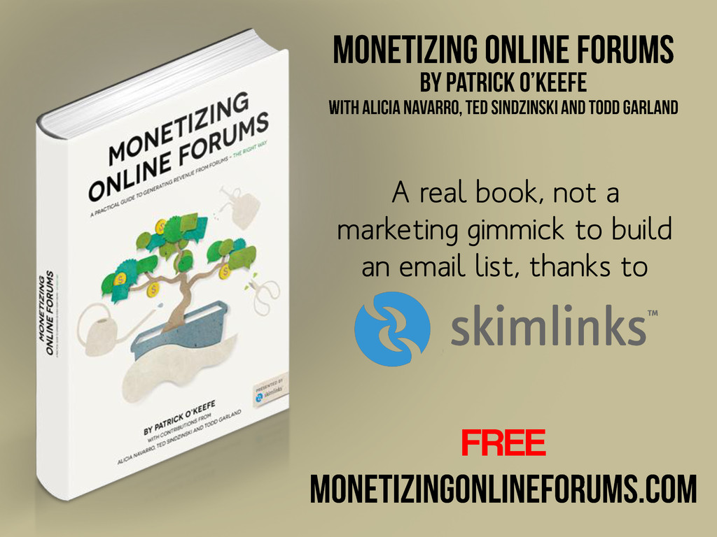 A real book, not a marketing gimmick to build a...