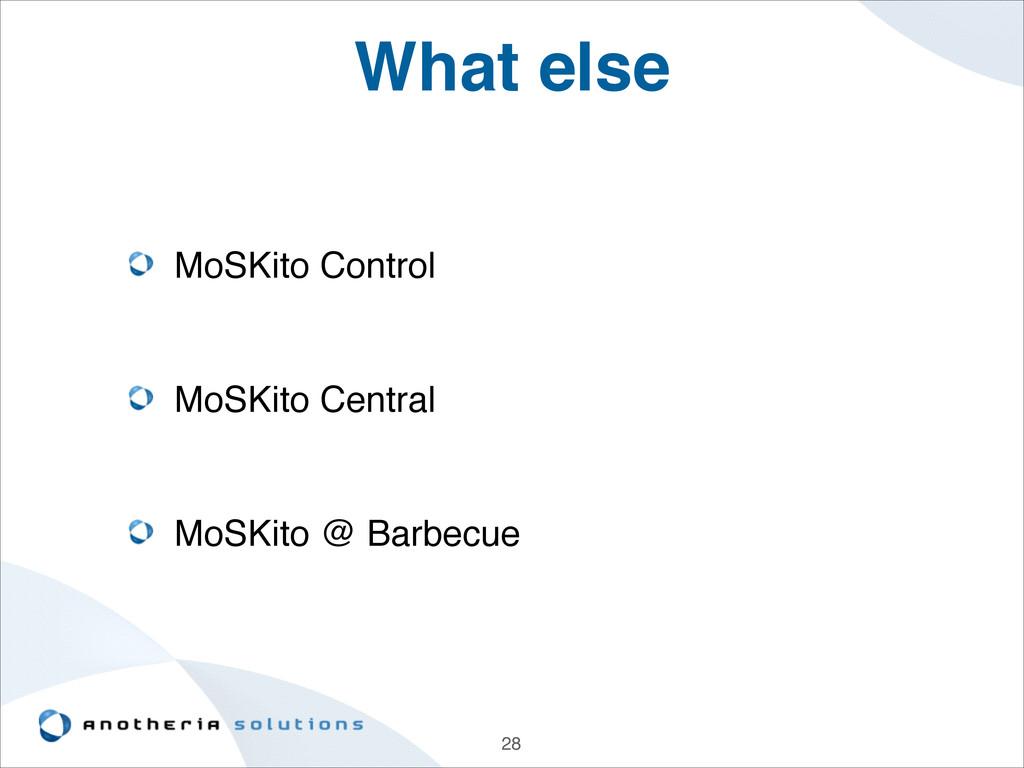 What else MoSKito Control ! ! MoSKito Central! ...