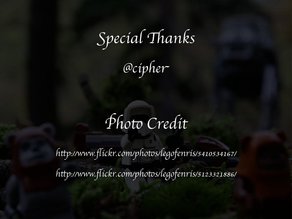 Special Thanks @cipher Photo Credit http://www....