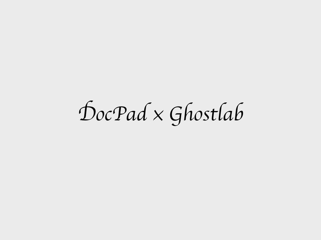 DocPad × Ghostlab