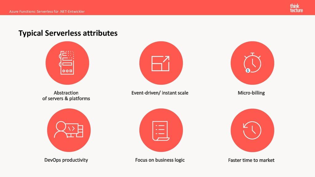 Azure Functions: Serverless für .NET-Entwickler...