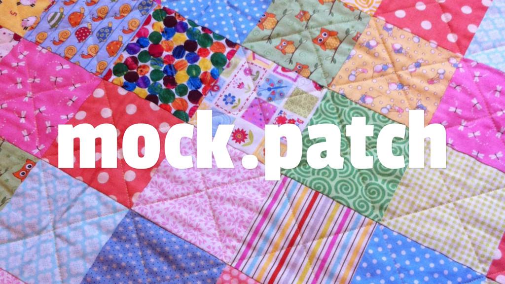 mock.patch