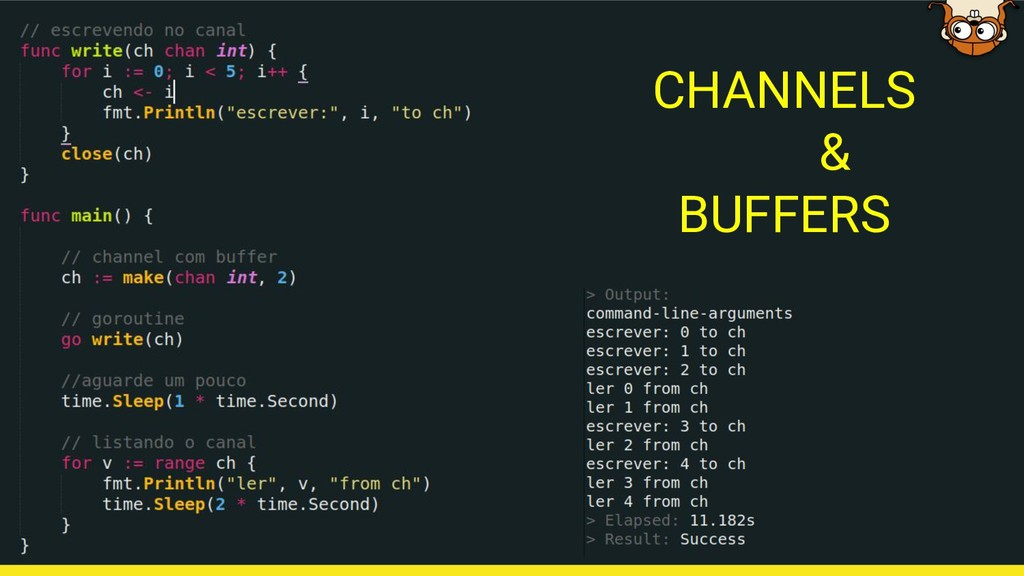 CHANNELS & BUFFERS
