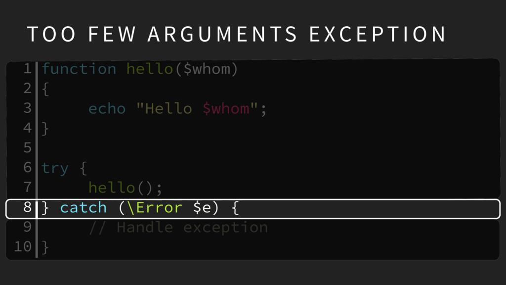 """function hello($whom) { echo """"Hello $whom""""; } t..."""