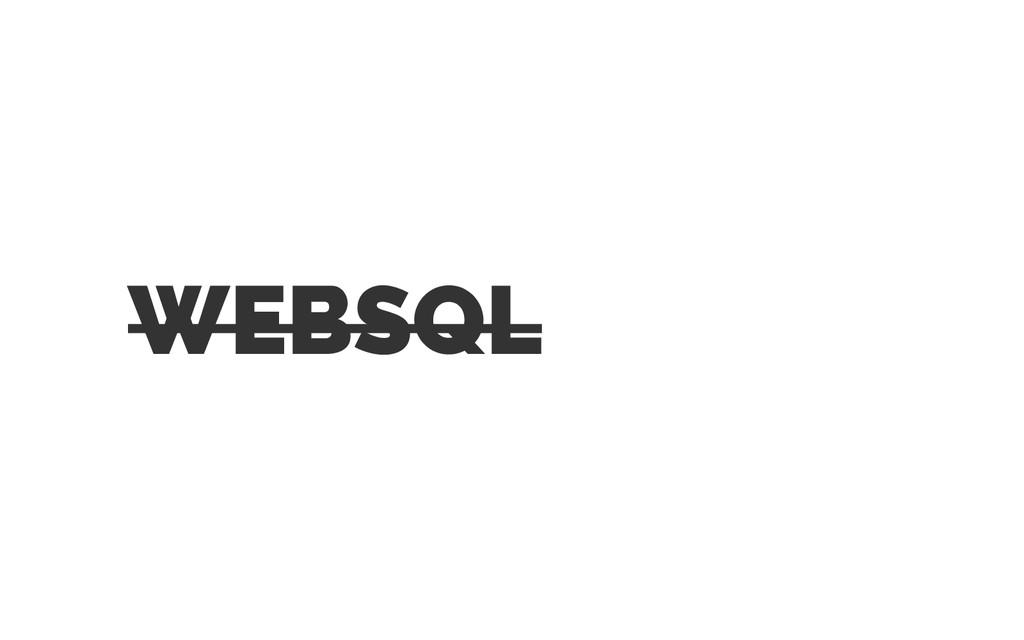 WEBSQL